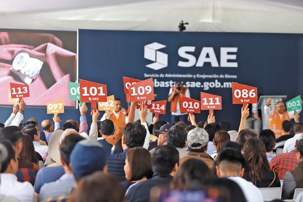 SOCORRIDA. Los bienes vendidos generaron 32.5 millones de pesos para el erario, informó el SAT. Foto: Víctor Gahbler