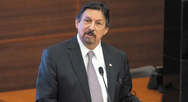GESTOR. El senador Napoleón Gómez Urrutia (Morena) elaboró la propuesta. Foto: Cuartoscuro