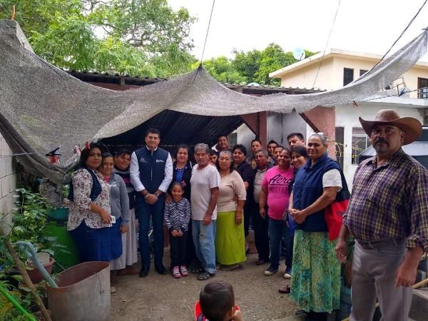 Las lluvias dañaron las viviendas de decenas de familias. Foto : Especial