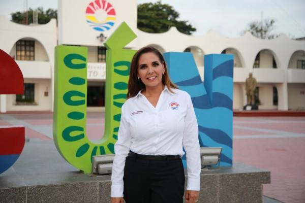 Mara Lezama, Presidente Municipal de Cancun: Foto: Cuartoscuro