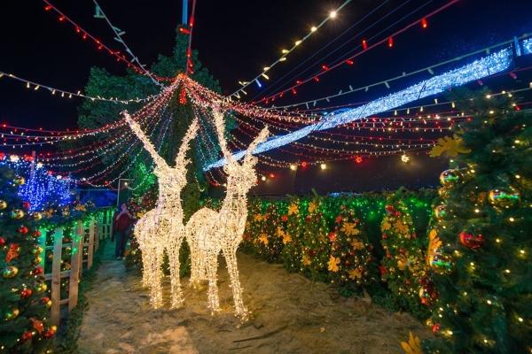 Villa Iluminada, el evento navideño más esperado de Atlixco - El Heraldo de México