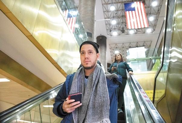 DEFENSOR. Martín Batalla viajó a Washington, donde la Corte Suprema escuchará su demanda. Foto: AP