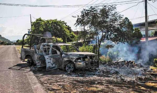 AVANCE. Han recuperado vehículos blindados. Foto: Cuartoscuro