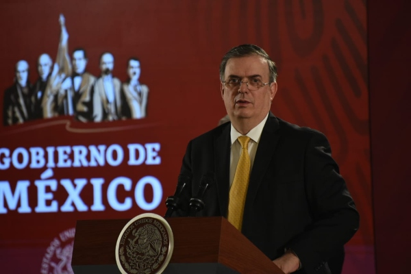 El titular de Relaciones Exteriores. Foto: Daniel Ojeda