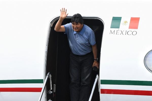 El expresidente de Bolivia Evo Morales. Foto: Leslie Pérez