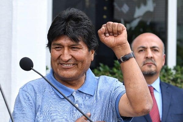 Evo Morales, expresidente de Bolivia. Foto: Leslie Pérez
