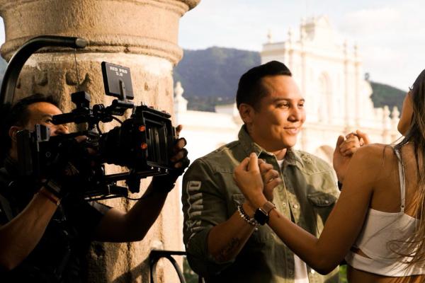 Edwin Luna y La Trakalosa de Monterrey graban