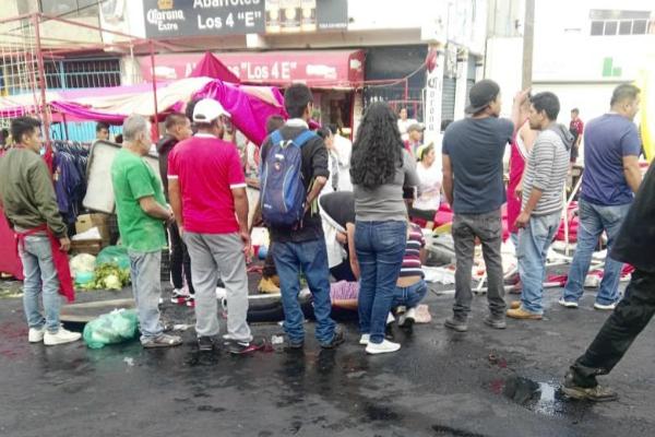 Al menos 4 personas atropelladas en calles de la alcaldía Tlalpan