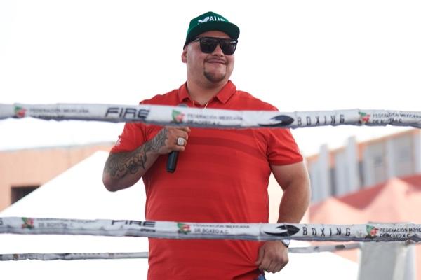 Andy Ruiz está considerado para poder pelear por el cetro pesado del CMB. Mexsport