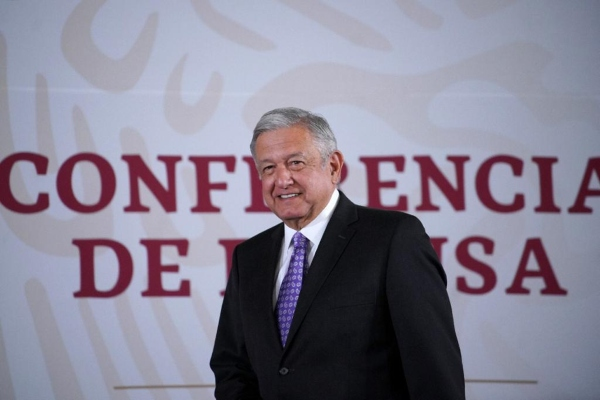 El presidente López Obrador en La Mañanera. Foto: Presidencia