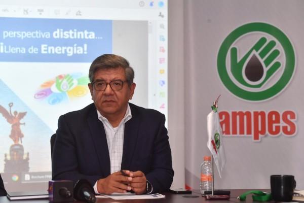Isaías Romero Escalona, presidente de la AMPES. Foto: Pablo Salazar Solís