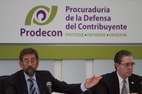 Uno de los temas que preocupa a Prodecon es la cancelación del sello digital a los contribuyentes. Foto: CUARTOSCURO