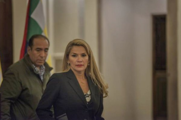 Jeanine Áñez, Presidenta interina de Bolivia. Foto: Getty images