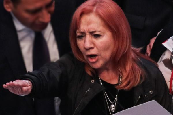 Rosario Piedra Ibarra tomó protesta como nueva titular de la Comisión Nacional de Derechos Humanos. Foto: Cuartoscuro