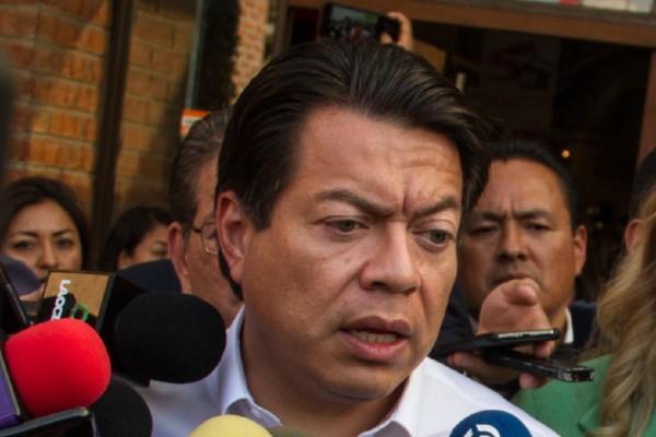 Mario Delgado, coordinador del grupo parlamentario de Morena. Foto: Cuartoscuro