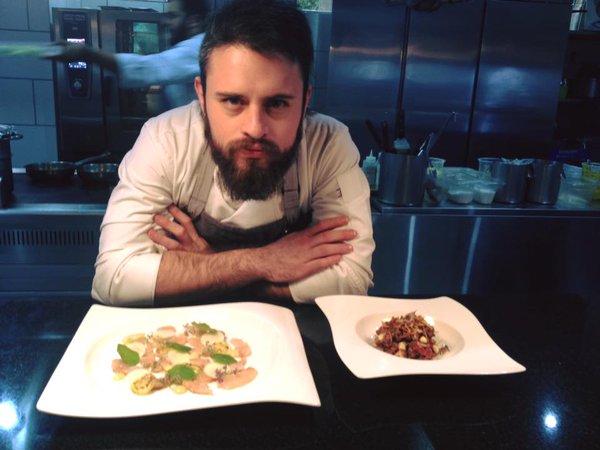 Diego Niño, chef originario de la Ciudad de México. Foto: Especial