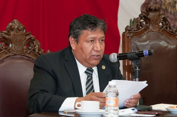 Armando Portuguez Fuentes, alcalde de Tultepec, Estado de México. FOTO: ESPECIAL