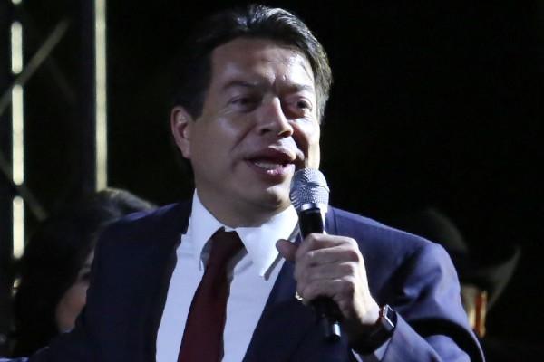 Mario Delgado, coordinador de los diputados de Morena. Foto: Cuartoscuro