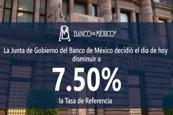 Asegura el economista principal de BBVA en México que baja a la tasa de interés de Banxico es insuficiente