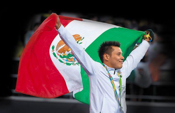 RECUERDO. Germán Sánchez conquistó la medalla de plata en los Juegos Olímpicos de Río de Janeiro 2016. Foto: Mexsport.