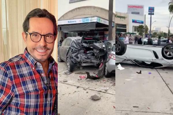 """Joven que se desmayó y tuvo aparatoso accidente es familiar de """"Pepillo"""" Origel: VIDEO"""