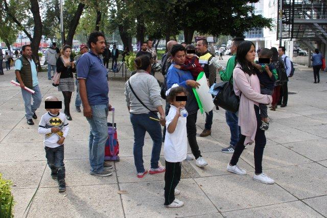 Los padres se han manifestado en varias ocasiones. FOTO: Cuartoscuro