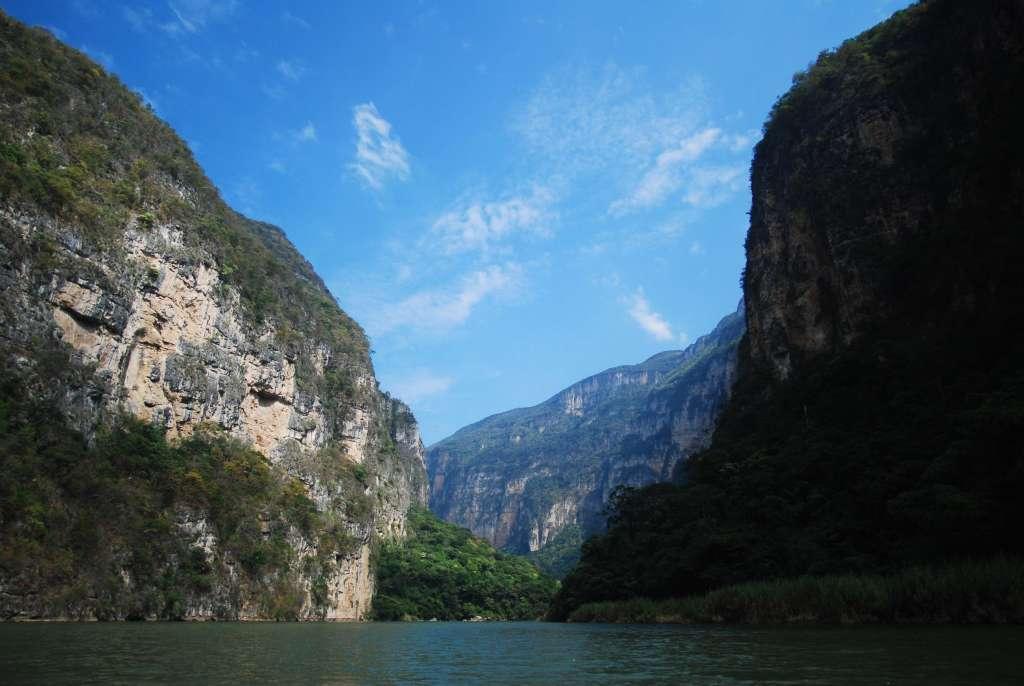 Cañón del Sumidero Chiapas. Foto: Cuartoscuro