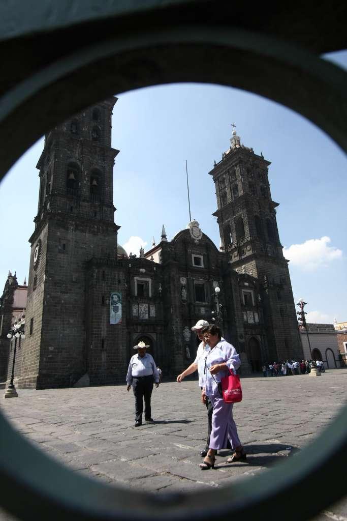 Catedral de Puebla. Foto: Cuatoscuro