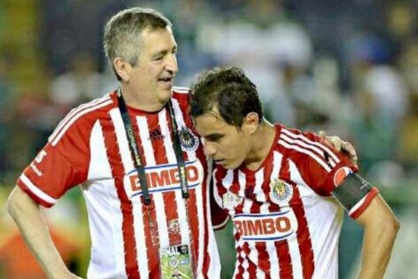 Jorge Vergara y Omar Bravo. Foto: @OBravoOficial