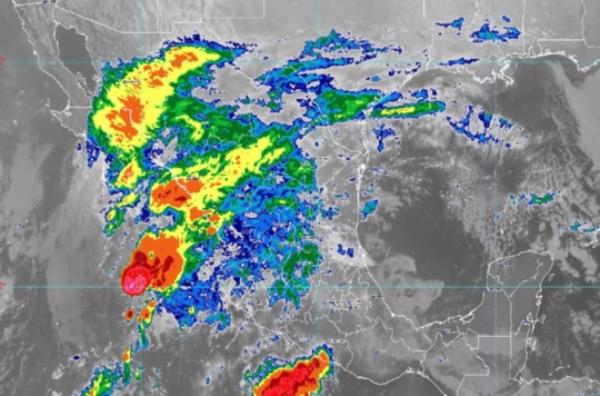 Raymond provocará potencial de chubascos y lluvias fuertes a muy fuertes. FOTO: Conagua