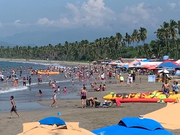 La ocupación hotelera casi de lleno total; la Sectur Guerrero informó que el Acapulco Dorado alcanzó más del 95 por ciento en distintos destinos. Foto: Especial