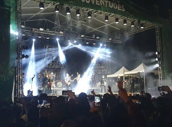 El show de Los Auténticos Decadentes fue anunciado horas antes del concierto como la sorpresa del evento. Foto: Especial