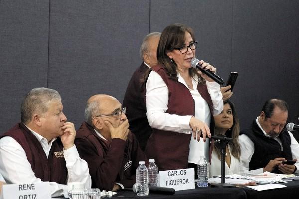 EN EL AIRE. Polevnsky aclaró que no hay convocatoria formal al Congreso de Morena del 30 de noviembre. Foto: Cuartoscuro