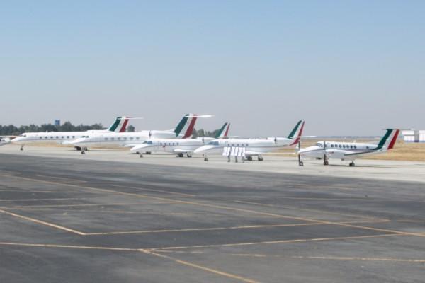 El estudio plantea hacer una zona de amortiguamiento al sur del aeropuerto de Santa Lucía. Foto: Cuartoscuro