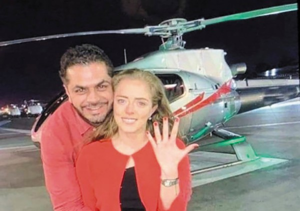 DATO. Patjane se iba a casar con la ex directora de Cultura de Tehuacán, Paulina Vargas. Foto: Especial