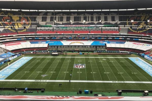 El Azteca está listo para recibir el juego de la NFL México. Foto: @EstadioAzteca