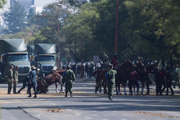 A las 10 de la mañana el programa cívico dará inicio en Palacio Nacional. FOTO: Cuartoscuro