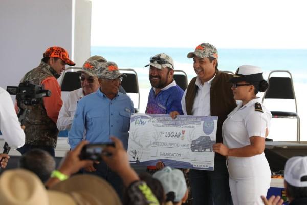 También se celebró la cuarta Copa Tamaulipas, considerada la mejor competencia de pesca deportiva del Golfo de México. Foto: Especial