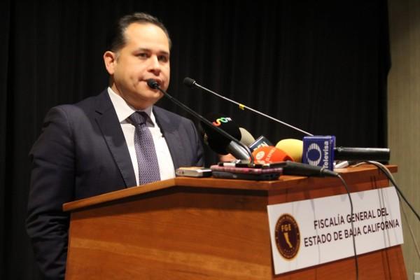 Hiram Sánchez Zamora, Fiscal Central en BC. Foto: Especial