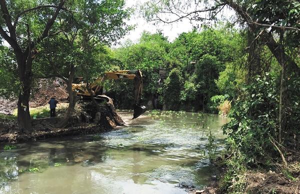 PROTECCIÓN OFICIAL. En septiembre, el gobernador Antonio Echevarría anunció la inversión de 5 mdp para el rescate del río. Foto: Especial
