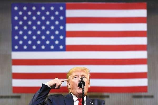 PROBLEMAS. El presidente Trump tiene que demostrar que no mintió sobre injerencia de Rusia. Foto: AFP