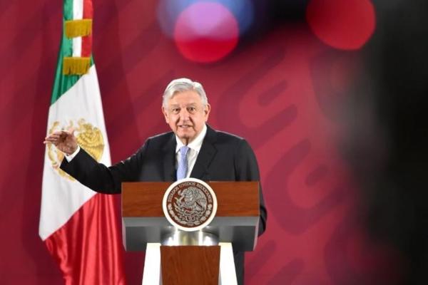 El presidente de México explicó sobre el proyecto. Foto: Presidencia