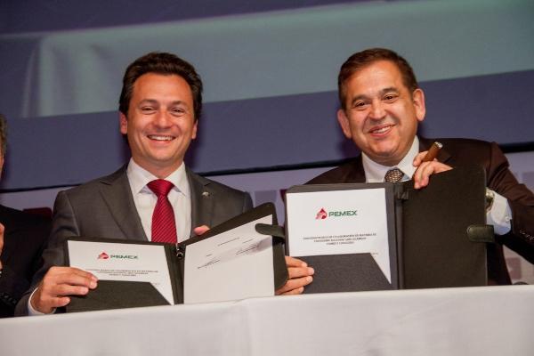 Emilio Lozoya fue nombrado director de Pemex el 1 de diciembre de 2012. FOTO: Cuartoscuro