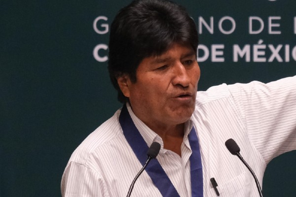 Evo Morales, expresidente  de Bolivia. Foto: Cuartoscuro