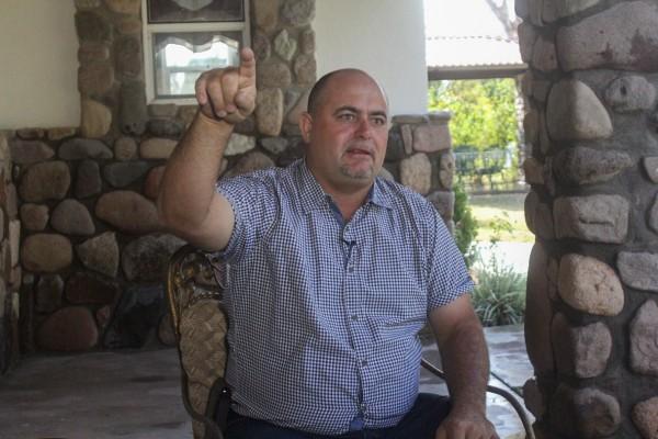 Julián LeBarón, activista y miembro de la comunidad LeBarón asentada en los estados de Sonora y Chihuahua. FOTO: NACHO RUIZ /CUARTOSCURO.COM