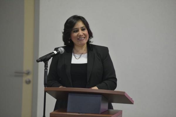 Irma Eréndira Sandoval Ballesteros, secretaria de la Función Pública. Foto: Especial