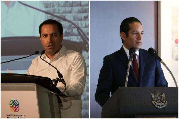 Mauricio Vila y Francisco Domínguez, encuesta gobernadores