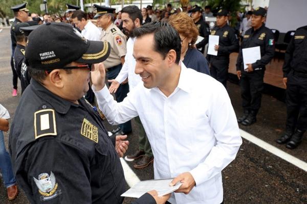 Mauricio Vila, gobernador de Yucatán. Foto: Especial