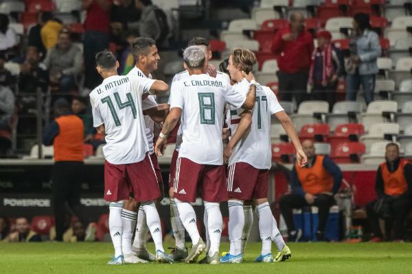 México quedó como líder del Grupo B de la Liga A. Foto: Mexsport.