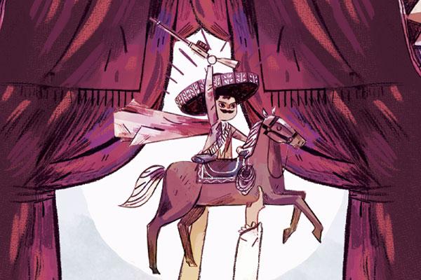 Su nacimiento, su alianza con Villa, el Plan de Ayala y su muerte, en la Hacienda de Chinameca. Ilustración: Heraldo de México